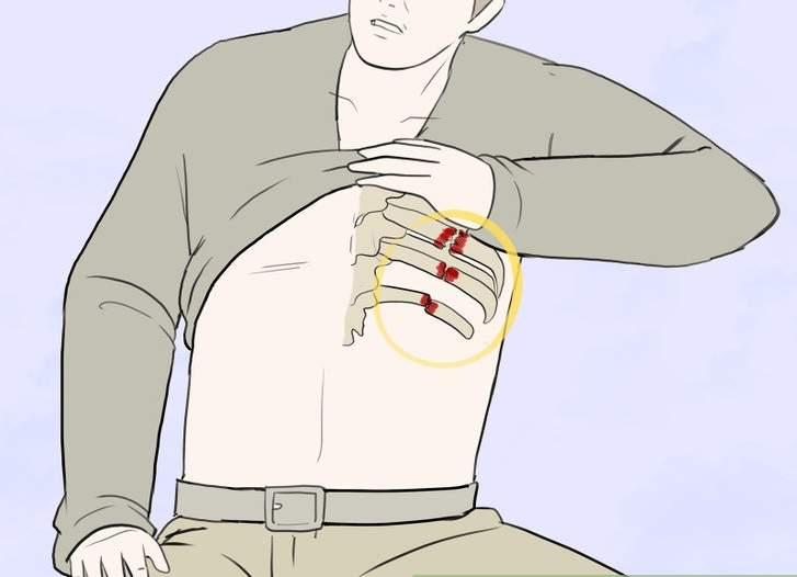 первая доврачебная помощь при ушибе грудной клетки