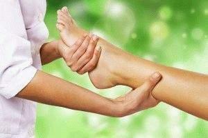 чем лечить отек ноги после снятия гипса