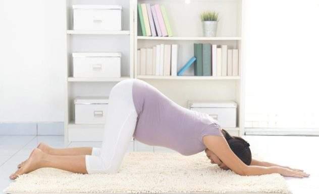 коленно локтевая позиция при беременности от отеков