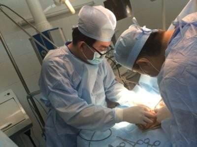 отек после операции водянки яичка у ребенка