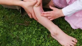 боли в щиколотках ног отек и покраснение шелушение кожи