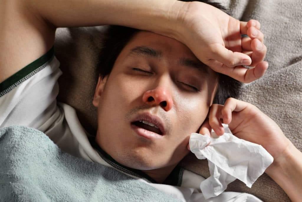 может ли быть температура от ушиба у ребенка