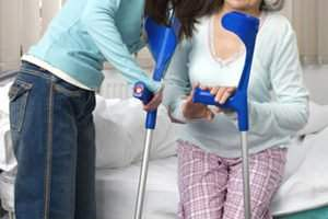 вбитый перелом шейки бедра у пожилых людей