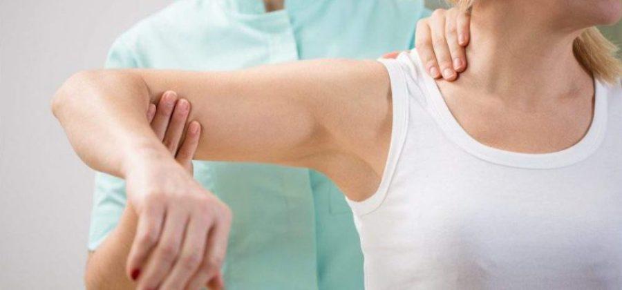 Массаж руки после перелома хирургической шейки плеча