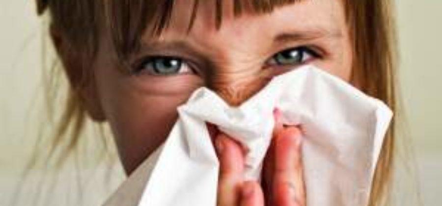 Снять отек слизистой носа у ребенка при кашле и насморке