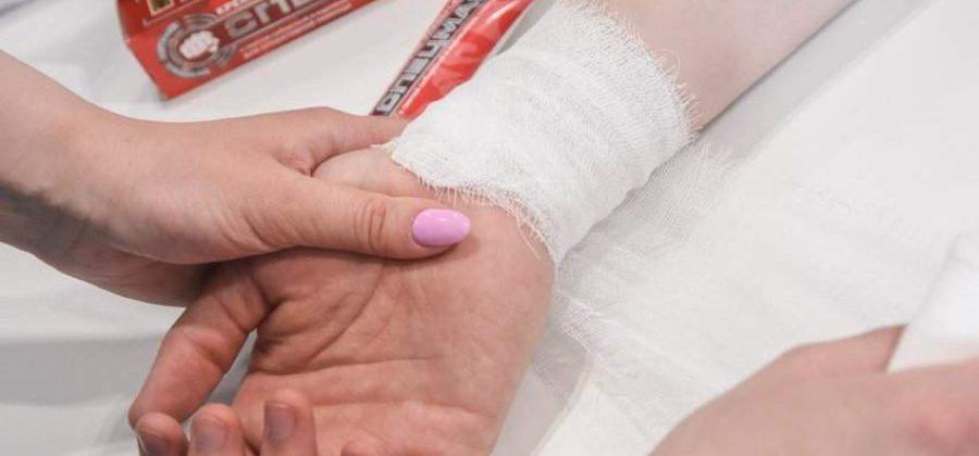 Расскажите о первой помощи при ушибах порезах ранениях